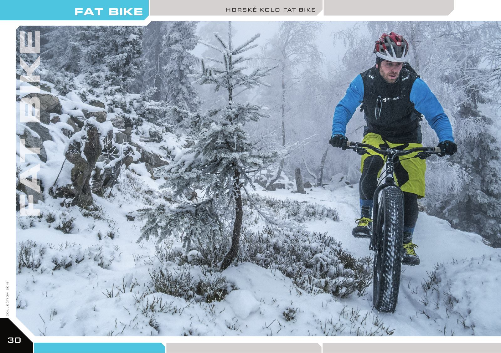FAT BIKE - horské kolo FAT BIKE
